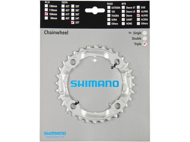 Shimano Alivio FC-M430 Kettingblad, silver
